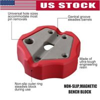 US Universal Non-Slip Gun Gunsmithing Pistol-Bench Block Assembling Repair Tools