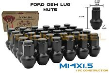2015 2016 2017 2018 Ford F-150 Black OEM/Stock Style Replacement Lug Nuts 14x1.5