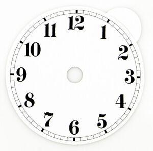 Zifferblatt für Uhren arabische Zahlen zum Kleben