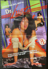 POSTER Orig 1-SH ~ VANESSA DEL RIO is DOCTOR LUST ~1987 Adult Classic