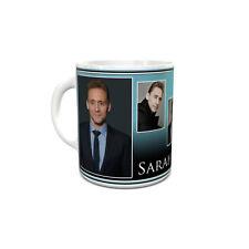 Tom Hiddleston custom printed mug personalised with your name unusual gift