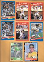 1987 Topps #366 Mark McGWIRE Rookie  & 1990 & 1991 Donruss Errors + 5 M. McGWIRE