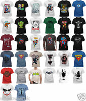 OFFICIAL Marvel DC Comics Character Superhero T shirts Avengers Batman Superman