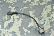 TCA 6-Pin PRC-148/152 U-283 Radio PTT Adapter Cable Compatible Kenwood Fitting