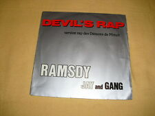 Ramsdy Jay And Gang – Devil's Rap 7'' 45 RPM Single