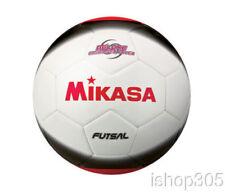Mikasa FSC450 America Futsal Soccerball Size 4 (Low Bounce) White/Black/Red