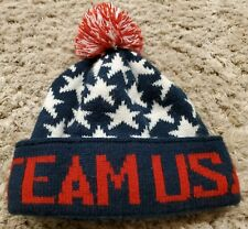 Team USA Knit Reversible Hat Adult One Size