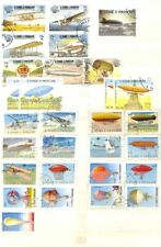 [OP4490] Sao Tome & Principe lot of stamps on 12 pages