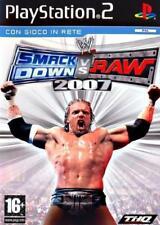 WWE SMACK DOWN VS RAW 2007 NUOVO / INCELOFANATO / ITALIANO PLAYSTATION 2