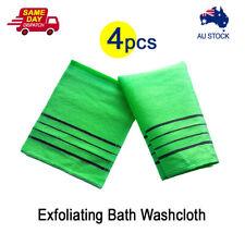 4x Korean Style Italy Towel Exfoliating Bath Washcloth Viscose Scrub Bath Mitten