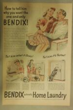 Bendix Appliances Ad: Automatic Home Laundry Machine from 1944