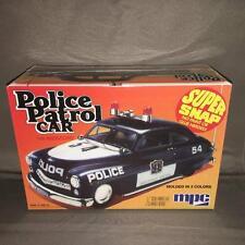 MPC705 MPC/Round 2 1:25 Model Kit Police Patrol Car Super Snap Kit - No Glue