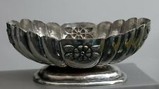 Vintage 1940's Mexican Silver Fruit Bowl
