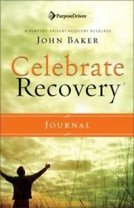 Celebrate Recovery Journal - Diary By Zondervan - GOOD