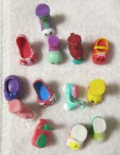 Shopkins Lot of 13 Shoes Rain Boots Sneakers High heels Different Seasons Rare