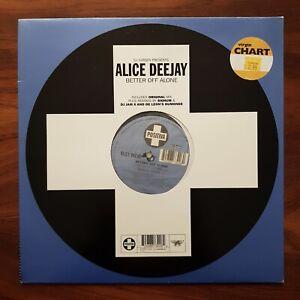 """ALICE DEEJAY JURGEN Better Off Alone POSITIVA 1999 UK 12TIV-113 VINYL 12"""" NM"""
