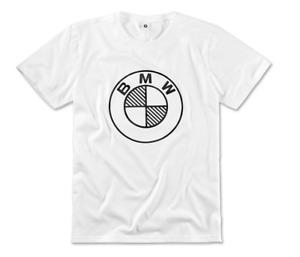 Sale Original BMW Logo Fan T-Shirt Shirt Unisex Monochrome Größe XL 80142463175