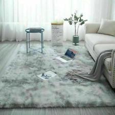 Fluffy Rugs Anti-Slip Shaggy Rug Super Soft Carpet Mat Living Room Bedroom Home~