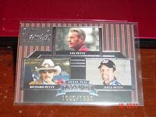 Richard / Lee / Kyle Petty 2005 Press Pass Legends Blue #47B Ser. #1650 of 1890