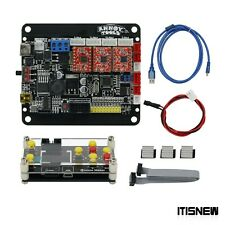 Grbl Laser Controller Board 3 Axis Stepper Motor Usb Driver 1 Inch Lcd Screen