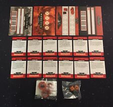 Warhammer 40K Kill Team Campaign Dice Tokens and Cards Promo HTF OOP RARE 2018