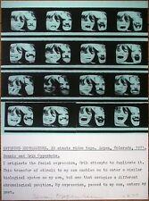 DENNIS OPPENHEIM, Offsetdruck 1977, signiert, Extended Expressions, Land Art