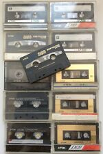 QUALITY blank cassette tapes TDK type1, type 2