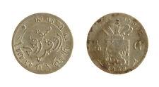 s1170_262) NETHERLANDS INDIES - INDIE OLANDESI 1/10 GULDEN  AG 1858