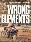 Affiche Pliée 40x60cm WRONG ELEMENTS (2017) Jonathan Littell Documentaire NEUVE