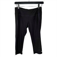 Avia Women's Sz S Capris Crop Leggings Black Workout Exercise Stretchy Pants
