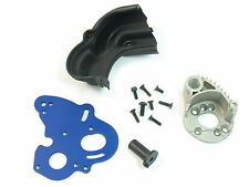 NEW E-REVO HEAT SINK DUAL ENGINE MOTOR MOUNT PLATE TRA 5660 5690 SPUR GEAR COVER