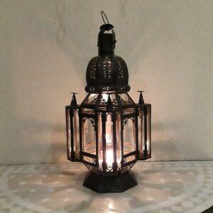 lanterne lampe marocaine k2 lustre plafonnier fer forgé  applique suspension