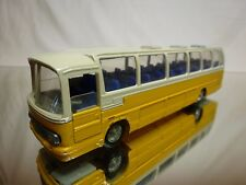 TEKNO HOLLAND 851 SCANIA CR-76 BUS - YELLOW + CREAM - L22.0cm - GOOD CONDITION