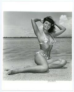 Original Bunny Yeager Photo-sexy pinup girl Betty Page-cheesecake 8x10 u100582