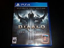 Replacement Case (No Game) Diablo Iii 3 Reaper Of Souls Ps4 Playstation 4