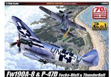 1/72 Aircraft Fw190A-8 & P-47D  Academy 12513 Model kit
