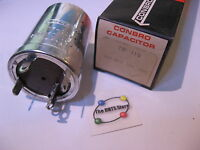 Electrolytic Capacitor 250uF 150VDC Conbro TP-119 Single Section - NOS Qty 1