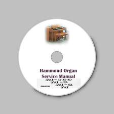 Hammond Organ Service Manual Models M M2 M3 M-100 * CD