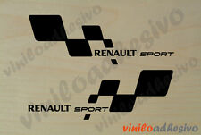 PEGATINA STICKER VINILO Renault Sport laterales aufkleber autocollant adesivi