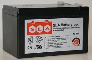 12V 12AH SLA Battery for Razor E500S / MX500 / MX650 USA