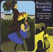 VA Piccadilly Sunshine Part 9 British Pop Psych And Other Flavours 1964-1970, CD