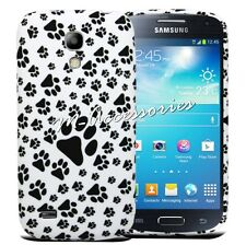 Paws Silicone / Gel Custodia Cover per Samsung Galaxy S4 Mini GT-i9190, I9192, I9195