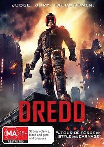 Dredd DVD (PAL, 2013) Free Post