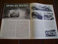 1968 MORGAN PLUS 8  ***ORIGINAL ARTICLE***