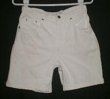 Canyon River Blues High Rise White Jeans Shorts Jrs 5 W:26 H:39 R:11 I:6.5