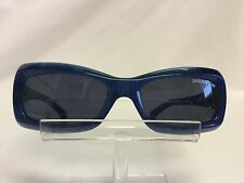 Big Star Sunglasses BSG705 Blue Plastic Gray Lenses Funky Cool Fun Retangular