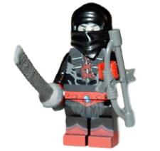 **NEW** LEGO Custom Printed - NINJOR - Masters Of The Universe MOTUC Minifigure