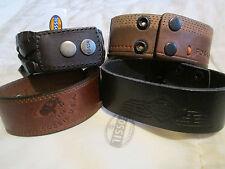 Leather Fossil Bracelets for Men