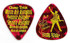 Cheap Trick Rick Nielsen Signature Red Pearl Guitar Pick - 2017-2018 Tour