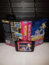 Battle Mania 2 -Trouble Shooter Vintage Video Game for Sega Genesis! Cart & Box!